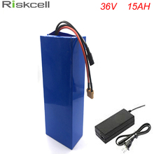 Rechargeable 10S7P 36volt lithium battery pack 36V 500W electric bike battery 36v 15ah fit 36v bafang 8fun bbs02 500w motor(China)