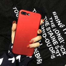for Apple iphone 6 6s case silicone cover  original phone case luxury China Red soft TPU case for iphone 6 6s plus 7 7 plus