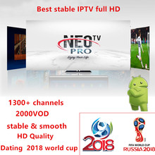 Buy Neotv pro 1300+ channels french IPTV Europe Arabic Belgium IPTV subscription code liveTV M3U android enigmas 2 mag box smart TV for $18.05 in AliExpress store