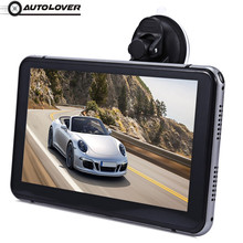 7 inch Vehicle Android 4.4.2 DVR Touch Screen Video Player WiFi HD 1080P Bluetooth Automobile Data Recorder with GPS Navigation(China)