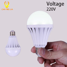 LED Smart Bulb E27 220V 5W 7W 9W 12W Led Emergency Light Rechargeable Battery Lights Lamp Outdoor LEDs Bombillas Flashlight