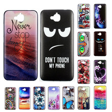 For Huawei Honor 4C Pro Enjoy 5 Huawei Y6 Pro Cute Cartoon Pattern Style Cool Gel Soft TPU Silicone Case Phone Cover Celular