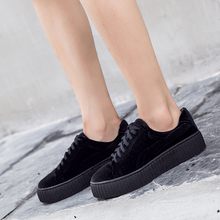 Womens Shoes Platform Sneakers Women Creepers Velvet Rihann Shoe Creeper Slipony Zapatos Zapatillas Mujer Casual Chaussure Femme