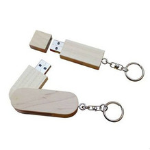 High Speed wooden USB 3.0  flash drive pendrive 4GB 8GB 16GB 32GB memory stick U disk with metal keychain LOGO customized gifts