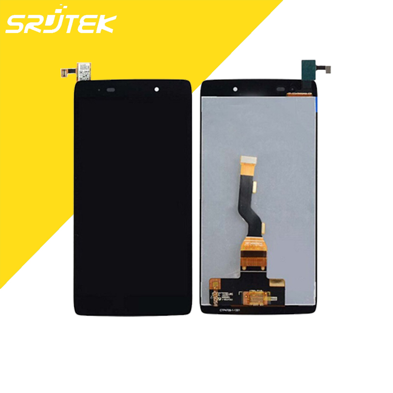 Black For Alcatel One Touch Idol 3 4.7 LTE 6039J 6039SFull LCD Display + Touch Screen Digitizer Assembly<br><br>Aliexpress