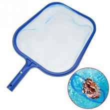 Leaf Rake Mesh Frame Net Skimmer Cleaner Swimming Pool Spa Tool New Swimming pool cleaning net 44*31cm(China)
