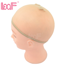LOOF wholesale 1200pcs High Stretchable Elastic nylon invisible hair net for wig Snood Mesh Weaving nets