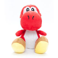 7in Yoshi Series Super Mario Bros Plush Toy Stuffed Animal Red  Super Mario Brothers Action figure Plush Doll