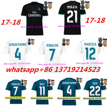 FR 17 18 Bayernes Parley reales madrides football shirts 2017 18 Muniches soccer jersey home away third GEWS A(China)