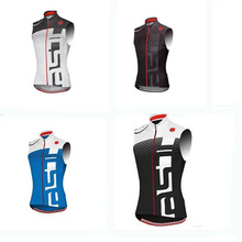Cool design low price promotion selling breathable outdoor sport racing jersey cycling vest maillot quick dry bike clothing