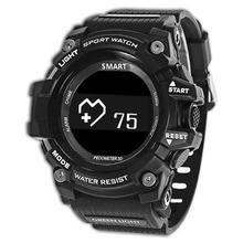 Buy Zeblaze MUSCLE HR Sports Smartwatch IP67 Waterproof Wearable Device Heart Rate Monitor Bluetooth Smart Watches Android IOS for $34.46 in AliExpress store