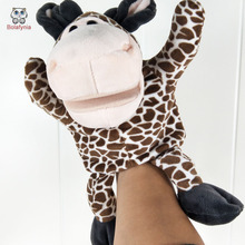 BOLAFYNIA Children Hand Puppet Toys baby kid plush Stuffed Toy tall giraffe for Christmas birthday gift