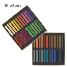 Hair Pastels 12/24/36/48 Piece Chalk Box Set Colour Salon DIY Color Chalks Hot(China)