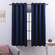 NICETOWN Blackout Window Curtains / Drapes for Living Room Thermal Insulated Grommet / Rod Pocket / Hooks Top / Pencil Pleat