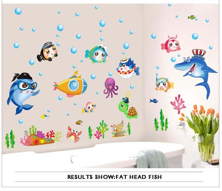 HTB10EvBdXcJL1JjSZFOq6AWlXXac - Multi-type Cartoon Sticker For Bathroom Or Kitchen