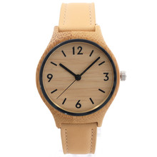 2015 Wooden Watches For Woman Gift With Casual Japanese Movement Quartz Bamboo With Gift Box