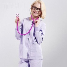 Hospital&Beauty Salon Man Woman Doctor Surgical Scrub Tops O-neck Medical Clothing,Doctor Medical Uniform,Medical Jacket,J39