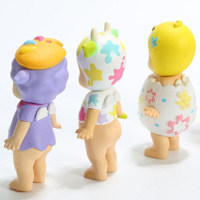 6pcs set Sonny Angel Mini Figure 2018 Version  Happy Easter Series PVC Action Figures Toys Dolls Gift for Kids Children  (8)