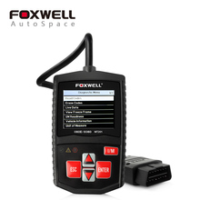Foxwell NT201 OBD2 EOBD CAN Scanner Automotive Code Reader Scan Diagnostic Tool Car OBDII OBD 2 Scaner(China)