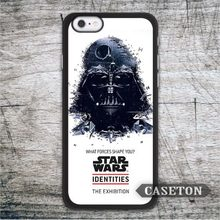 Classic Darth Vader Star Wars Case For iPhone 7 6 6s Plus 5 5s SE 5c and For iPod 5 High Quality Vintage Retro Cover