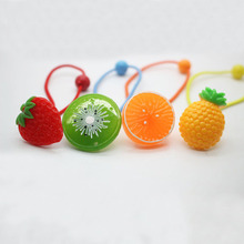 Newest fruit elastic hair bands charming cute headwear fashionable ponytail holders girls' hair bands hair accessories wholesale