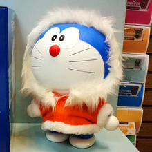 Doraemon The Movie 2017 Action Figure 1/6 scale painted figure Real Christmas Colthes Ver. Doraemon Doll PVC figure Toy Anime