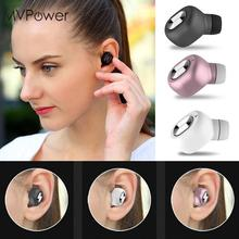 MVpower Wireless Head phone Mini Headset Bluetooth 4.1 Handsfree Headphone Cordless Micro Earphone(China)
