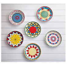 And Creative For Household Dish Of Ceramic Dish Plate Hanging Wall Hangings, Western Dessert Dish, Bakeware Decorative Plate