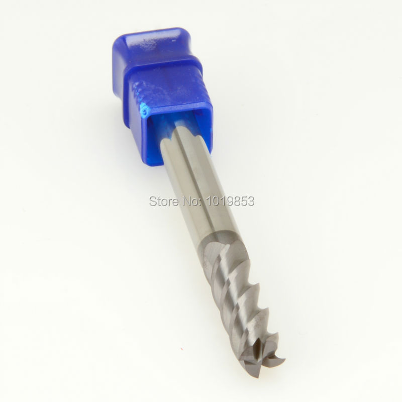 CGS-250 10*10*100L HRC50 SOLID tungsten carbide end mill for CNC machine<br>