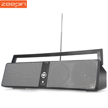 Zeepin Portable BTK 3301 HiFi Boombox Wireless Bluetooth Speaker with USB Input AUX Input SD TF Card Playing FM AUX Function