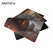 Hot New World of Tanks cheap professional gaming mouse pad great computer mouse notbook mat(China)