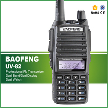 100% Brand New Original Dual Band Baofeng UV-82 Amateur Radio Transceiver with Double PTT  Headset