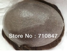 ultra thin skin  men toupee  V loop 8x10inch , thickness 0.02-0.04mm NG  hair men wig , hair replacment system  free shipping