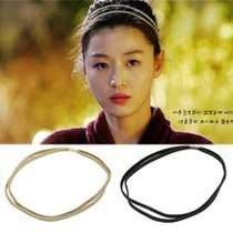 One thousand Iraqi Chung Korean pop star with money rope unique headdress hair band jewelry wholesale  free shipping