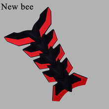 Newbee 3D Motorcycle Gas Oil Fuel Tank Pad Protector Decal Sticker For Honda CBR RVF VFR For Yamaha Harley BMW Honda Moto VR46(China)