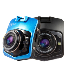 Mini Car DVR Camera GT300 Camcorder 1080P Full HD Video Registrator Parking Recorder G-sensor Dash Cam_black