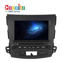 Dasaita Android 6.0 Octa Core Car DVD Player for Mitsubishi Outlander 2007 with 2GB Stereo Auto Radio Audio Head Unit Support 4G(China)