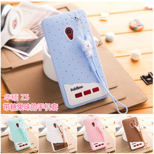 For ASUS Zenfone 5 Case Cover Silicon 3D Cute Cartoon Ice Cream Soft Silicone Phone Cases For ASUS Zenfone 5 Cover Lanyard Case