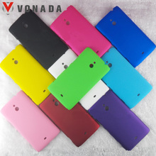 Vonada for Nokia Microsoft Lumia 1320 1520 1020 625 925 720 520 525 New Matte Slim Plastic Shell Hard Back Case Cover(China)