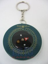 Qibla compass keychain / Muslim prayer keychain compas(China)