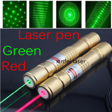 JSHFEI Laser set 1000mW red  laser pointer light match Golden style include 18650 battery and charger WHOLESALE LAZER