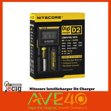 100% Orignal Nitecore D2 Intellicharger Universal Battery Charger for AA AAA Li ion 26650 18650 Batteries Charging VS IJOY