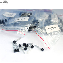 170PC/Lot Transistor Assorted Kit S9012 S9013 S9014 A1015 C1815 S8050 S8550 2N3904 2N3906 A42 A92 A733 Each 10pcs #CGKCH055
