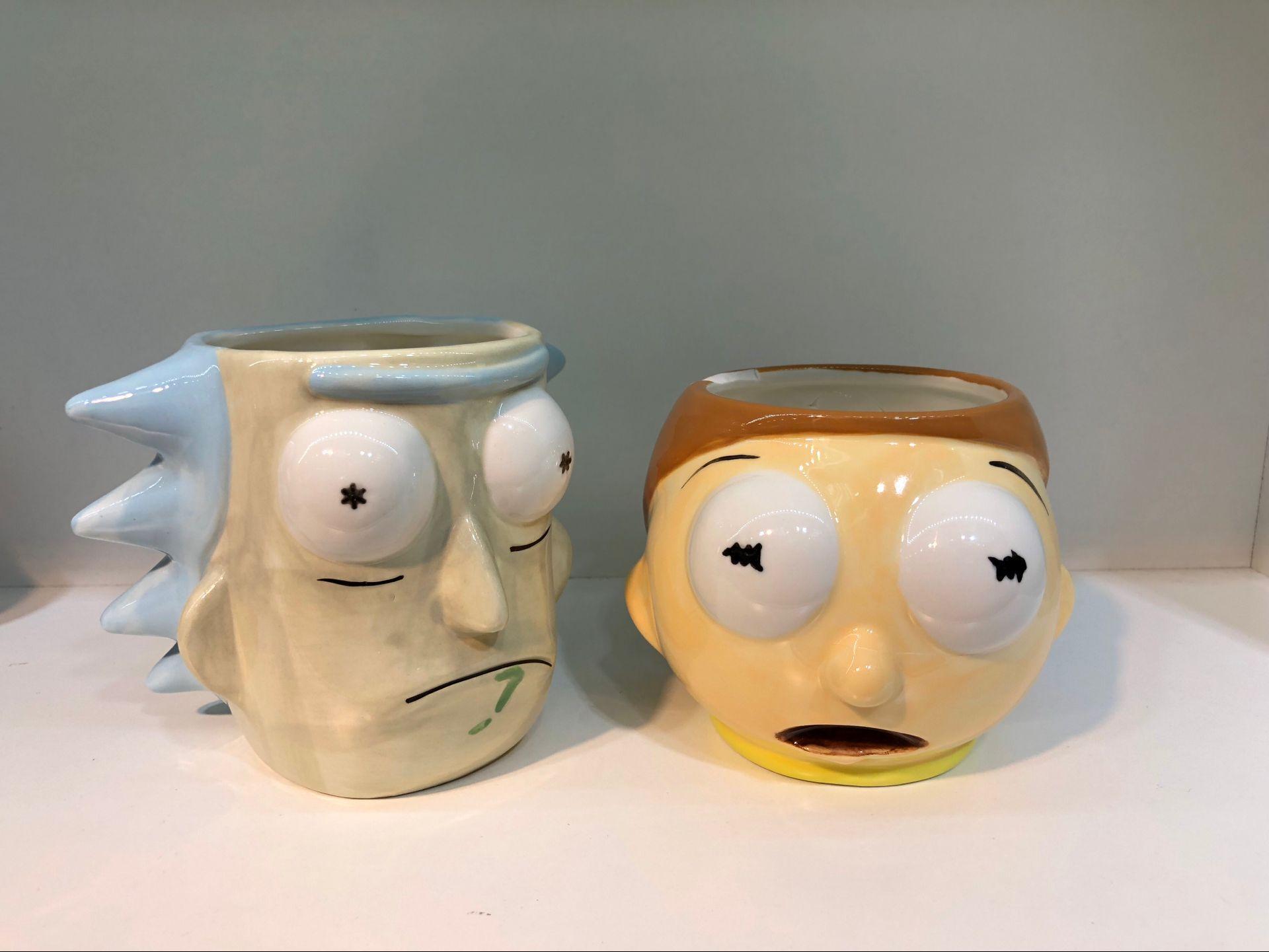 Cute Rick and Morty Mug Cup