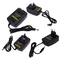 AU/ UK/US/EU Plug Power Adapter AC 100V-240V to DC 24V Converter Power Supply Adaptor 5.5*2.5 mm for GPS/Printers