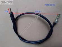 Single screw Speedometer Cable for GY6 Scooter Handsome Boy Tank Sporty Roketa Bahama Sunl VIP Future Champion 150cc Baja BE500(China)