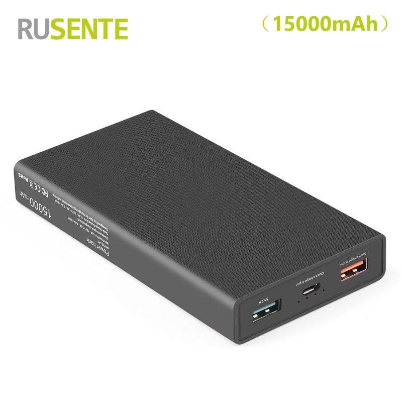 High quality Universal Fast USB 3 0 port Charger 15000mAh font b Power b font font