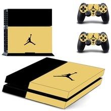 NBA Legned Air Jordan PS4 SKin Sticker Sony PlayStation 4 Console Controllers Dualshock 4 PS4 Skin Sticker