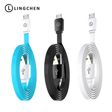 LINGCHEN Micro USB Cable 2A Fast Charging Cable Micro USB Android Mobile Phone Device Data Sync Charger Cable Samsung