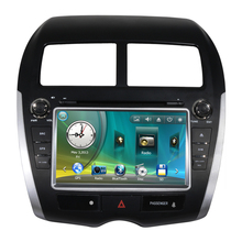 "8"" Car Radio DVD GPS Navigation Central Multimedia for Mitsubishi ASX SD USB RDS Analog TV Phonebook Bluetooth Handsfree"